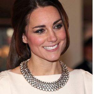 Zara Kate Middleton statement necklace